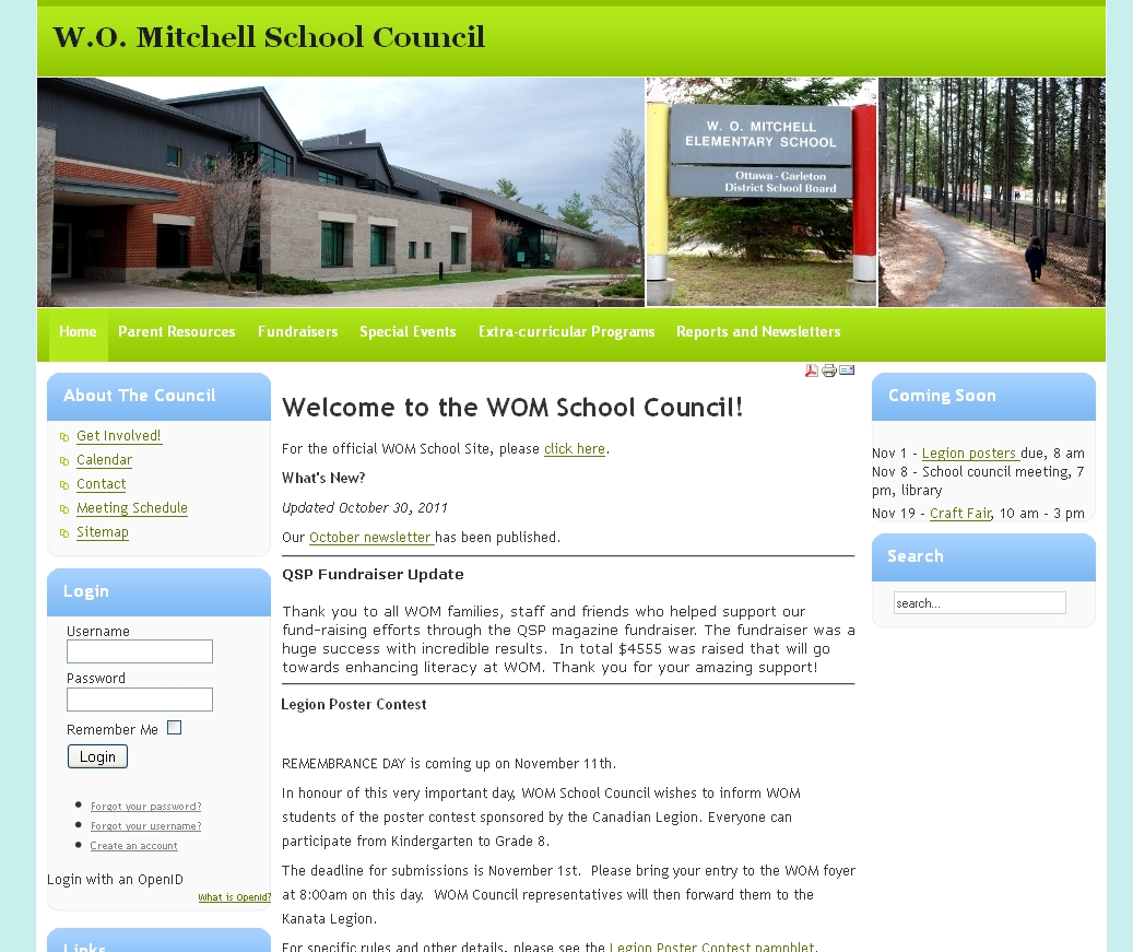 WOM School Council Site
